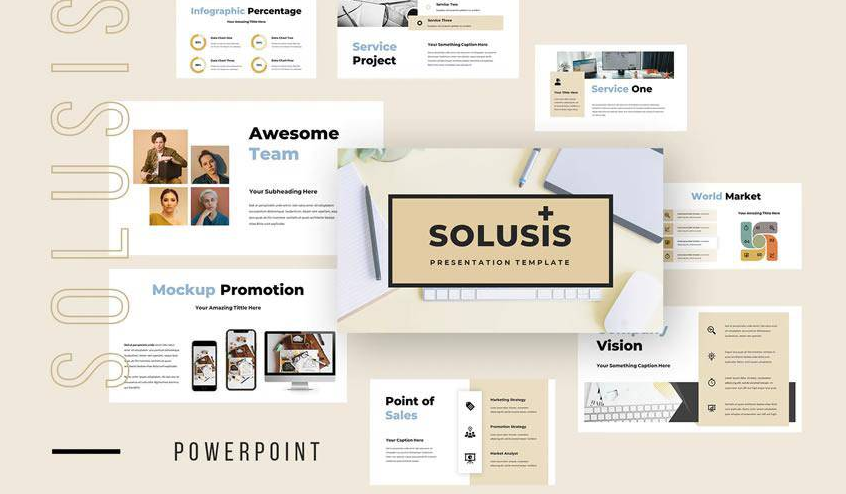 Solusis Business PowerPoint Presentation